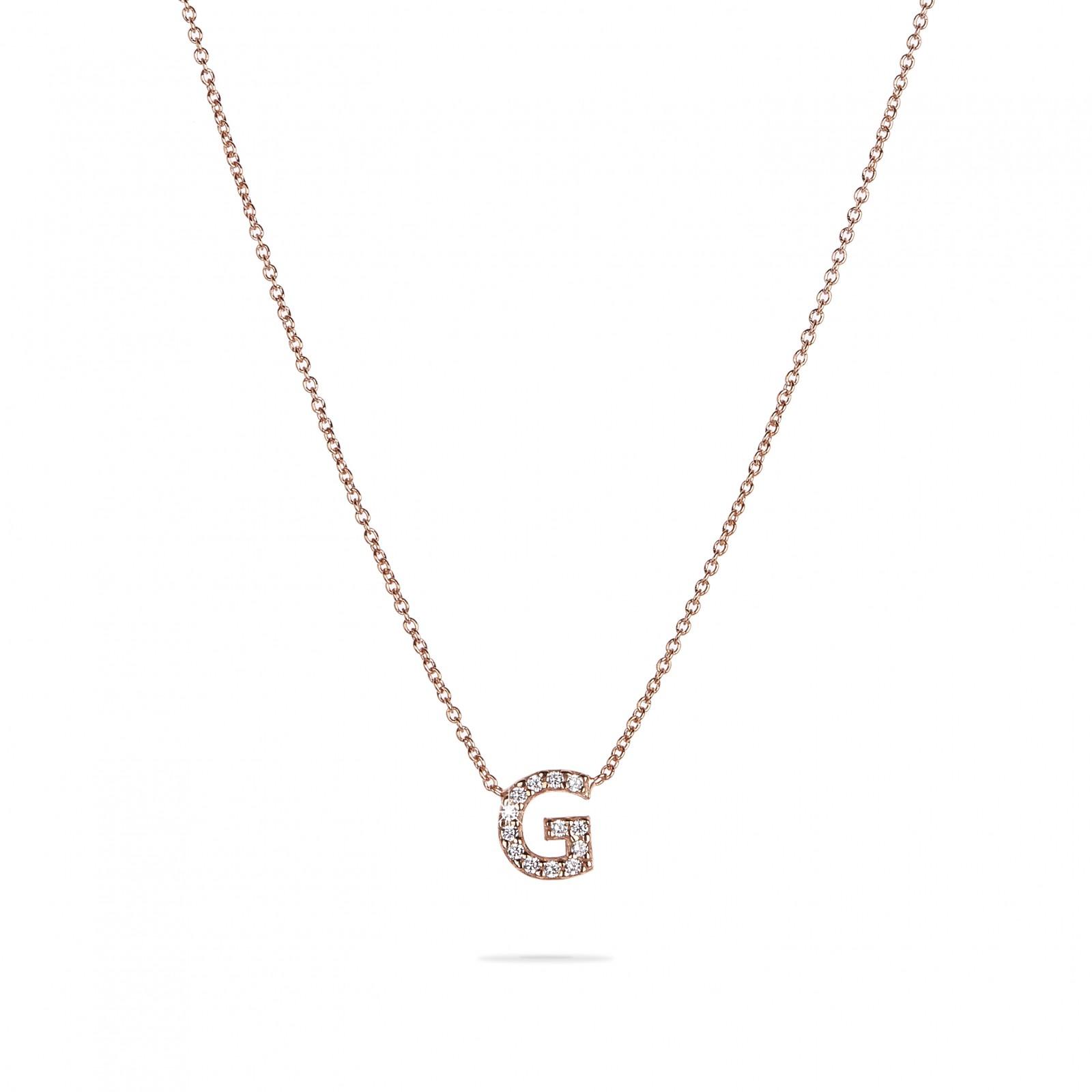 comprare popolare 2f54a a64a3 Collana veneziana oro 18k iniziale grande - Maison Gioielli ®